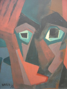 Rosto geometrizado - 1974